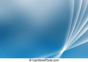 Blue Soothing Vista Curves Abstract Background Wallpaper