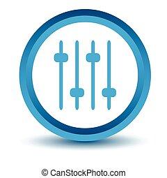Blue sound icon