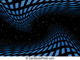 Blue space abstraction