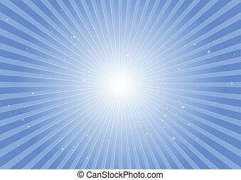 Blue space blast