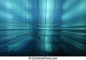 blue speed - abstrakt blue