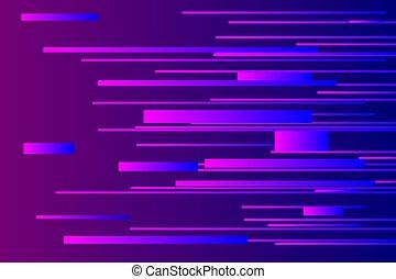 Blue speed light