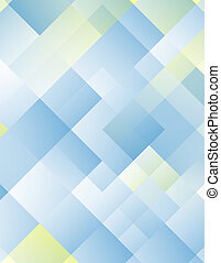 blue square abstraction