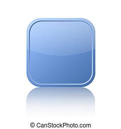 Blue square button