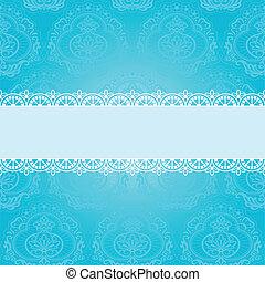 blue square napkin