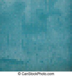 blue square pixel gradient grunge