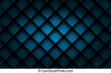 Blue square vector background