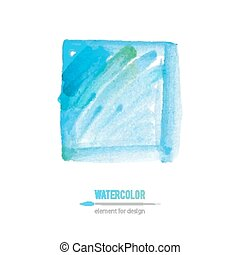 watercolor element