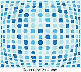 Blue squared background