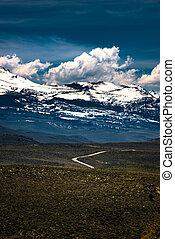 Blue Star Highway to Mono Lake California Overlook