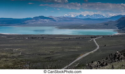 Blue Star Highway to Mono Lake California Overlook - 395 To...