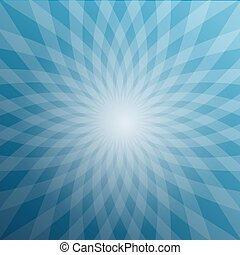 Blue Star Shaped Background. Abstract Winter Vector Design.