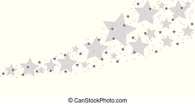 blue stardust isolated on white background vector...