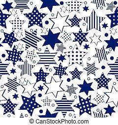 Blue stars background