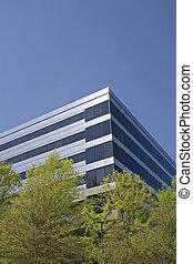 Blue Steel Office in Trees