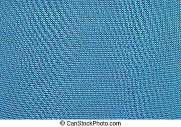 Blue stockinet background