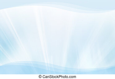 Blue streaks and waves background - CG background featuring...