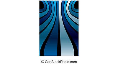 blue stripe band background