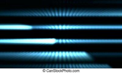 blue stripe light lines and laser