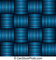 blue stripe weave - abstract Striped weave background effect...