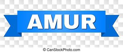 Blue Stripe with AMUR Text