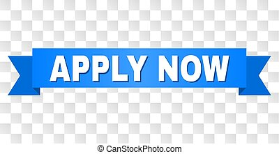 Blue Stripe with APPLY NOW Title