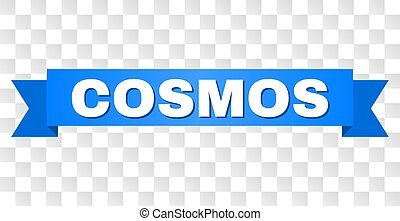 Blue Stripe with COSMOS Text