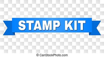 Blue Stripe with STAMP KIT Title