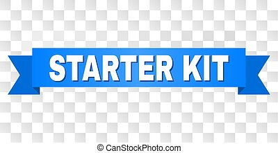 Blue Stripe with STARTER KIT Title