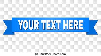 Blue Stripe with YOUR TEXT HERE Text - YOUR TEXT HERE text ...