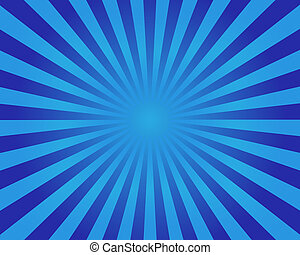 Blue striped background round