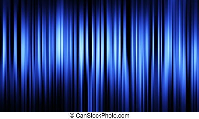 blue stripes. computer generated seamless loop abstract motion background.
