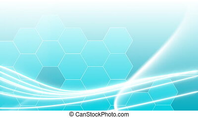 Blue stroke Background
