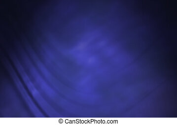 Blue studio backdrop - Electric blue backdrop with folds.