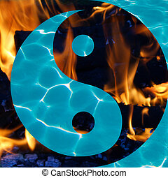 Blue Swimming Pool Water