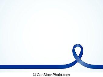 blue szalag, tudatosság