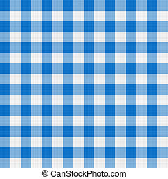 blue table cloth - seamless texture of blue and white...