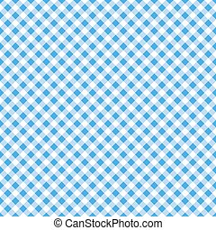 blue table cloth seamless pattern