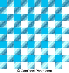 blue tablecloth seamless pattern - Blue tablecloth seamless...