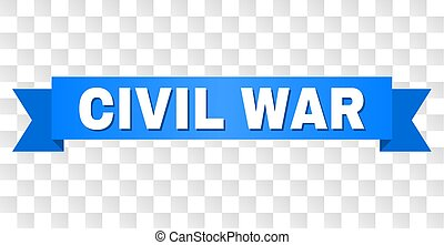 Blue Tape with CIVIL WAR Text