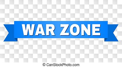 Blue Tape with WAR ZONE Text