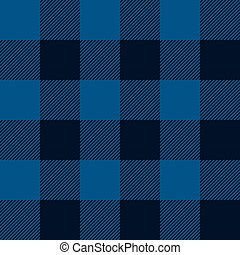 blue tartan pattern