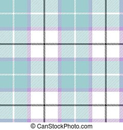 Blue tartan plaid baby color seamless pattern