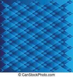 Blue texture geometric on white