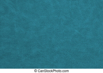 Blue textured leather material background