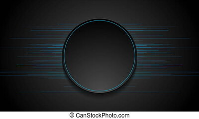 Blue thin abstract lines technology futuristic motion ...