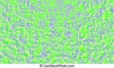 Blue through green background
