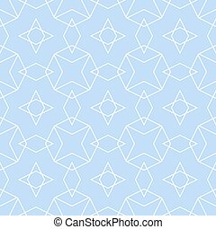Blue tile vector pattern