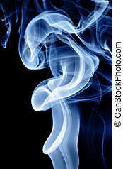 Blue tobacco smoke, may be used as background