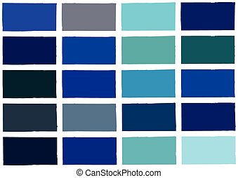 blue tone color shade background with code and name illustration